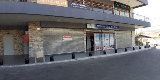 (COD 829) Se arrienda local comercial en Quilpué